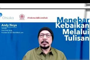 Andy: Jurnalis dapat Menggerakkan Masyarakat Berbuat Baik