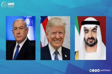 UEA dan Israel Sepakati Perdamaian dan Normalisasi Hubungan Diplomatik