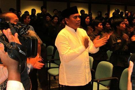 Sekda DKI Ajak Menwa Aktif Bangun Jakarta