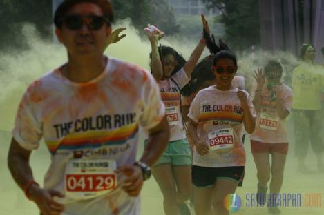 The Color Run Jilid Dua Digelar di Jakarta