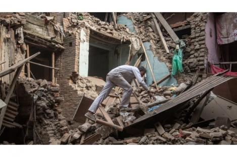 Kerugian Akibat Gempa Nepal Ditaksir Capai 50 Persen PDB