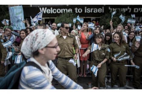 Imigrasi Warga Yahudi ke Israel Naik 40 Persen
