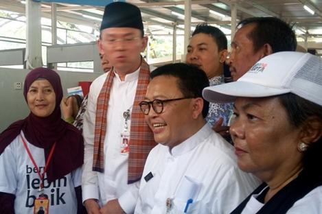 Lenggang Jakarta Menyasar Pembenahan PKL