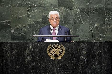 Palestina Minta PBB Hentikan Pendudukan Israel pada 2016