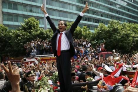 Media Luar Negeri Sambut Positif Pelantikan Jokowi