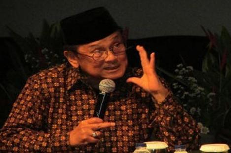 Habibie Dirawat di RS Boromeus Bandung