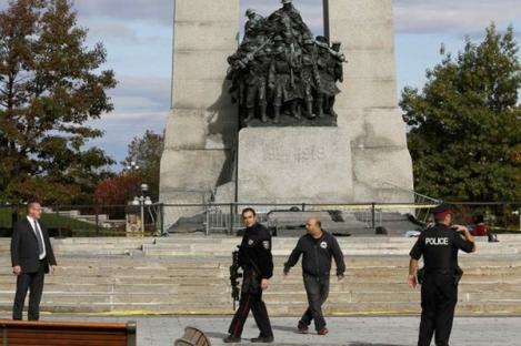 Parlemen Kanada Diserang, Satu Tentara Terbunuh