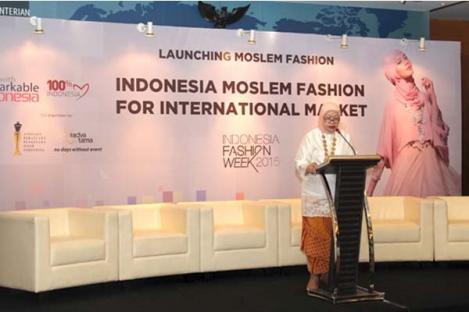 IFW 2015, Kemendag Akui Potensi Fashion Muslim
