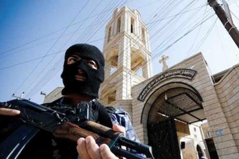 NIIS Gunakan Masjid untuk Sembunyi dari Serangan Udara