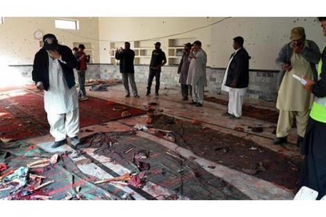 Masjid Meledak, 20 Orang Terbunuh Saat Salat Jumat di Pakistan