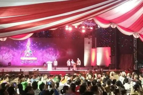 Jakarta Fair 2015 Resmi Dibuka