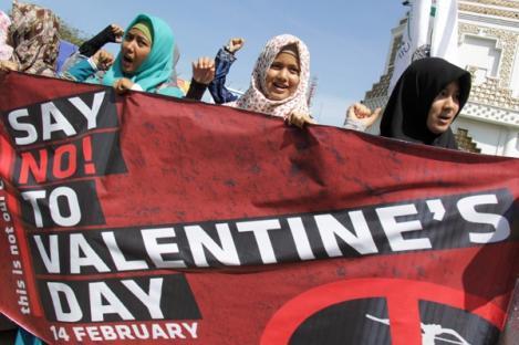 Sejumlah Daerah di Tanah Air Tolak Valentine Day