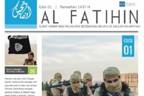 Singapura Larang Peredaran Surat Kabar Al Fatihin Milik ISIS