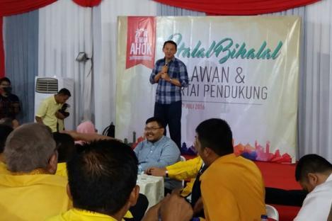 Ahok Pilih Jalur Parpol Bertarung di Pilgub DKI 2017