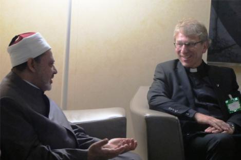 Imam Al-Azhar Beri Kuliah Perdamaian di Dewan Gereja Dunia