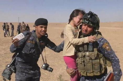 Pengakuan Gadis Irak yang Diselamatkan Tentara Irak dari ISIS