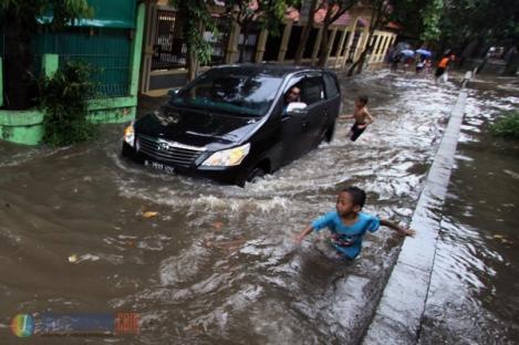 Sebagian Wilayah Jakarta Banjir
