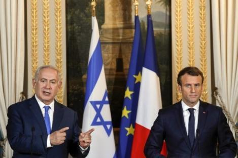 Macron dan Netanyahu Saling Kritik Soal Yerusalem