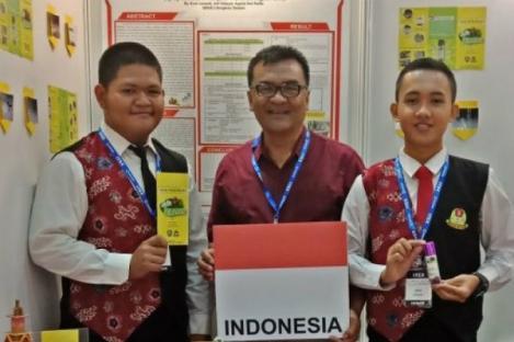 Semprotan Antinyamuk Karya Pelajar Bengkulu Menang di Malaysia