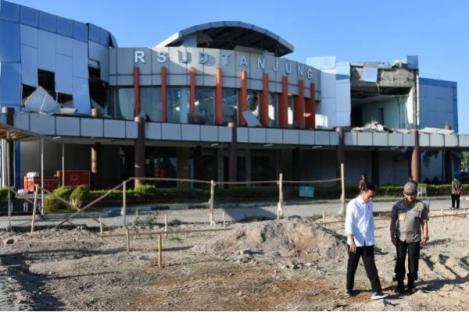 Pemerintah Segera Perbaiki RSUD, Sekolah, Pasar di Lombok