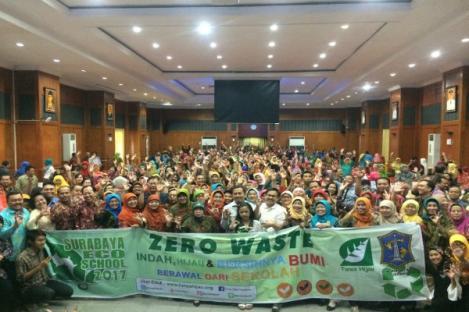 Kendalikan Sampah Plastik dari Sekolah