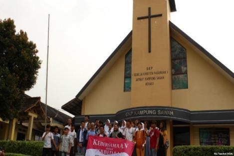 Mewariskan Toleransi Kampung Sawah ke Anak Muda