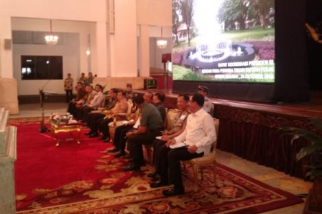 Presiden Kumpulkan Pangdam Kapolda Bahas Pungli-Pilkada