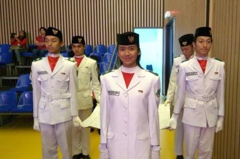 Audrey Ajak Pelajar Ikuti Seleksi Calon Paskibraka Nasional