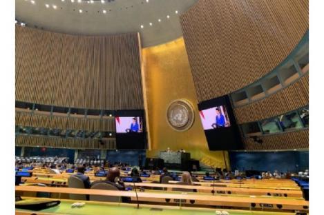 Presiden Jokowi Ajak PBB Bersatu Hadapi Pandemi COVID-19