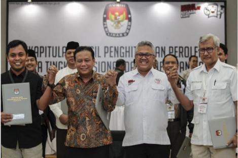 KPU Tetapkan Pasangan Jokowi-Ma'ruf Amien Raih Suara Terbanyak Pilpres 2019