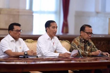 Presiden Jokowi Tidak Setuju Empat Substansi Revisi UU KPK
