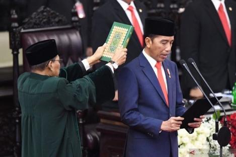 Jokowi-Ma'ruf Sah sebagai Presiden dan Wapres RI 2019-2024