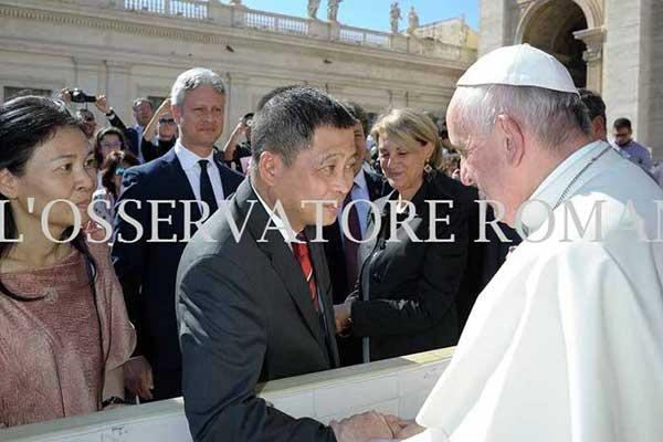 Satu Harapan Sebelum Jadi Menteri Esdm Jonan Temui Paus Fransiskus