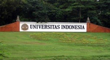 Papan nama kampus Universitas Indonesia, Depok. (Foto dari Wikimedia)