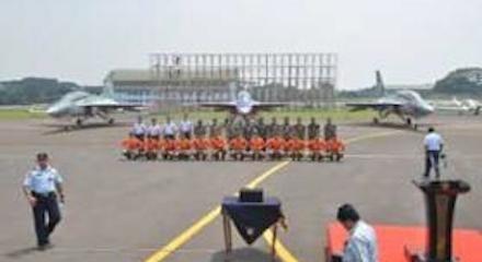 Menkopolhukam dan KSAU Uji Coba Pesawat T-50i