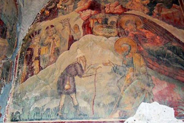 Lukisan Kuno di Gereja-gereja Albania Dicuri