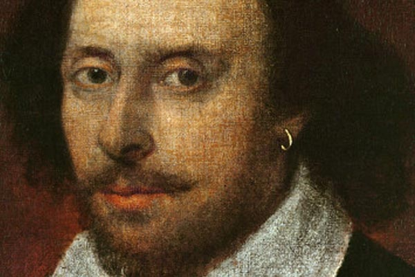 William Shakespeare, penyair, aktor, dan penulis drama yang melegenda