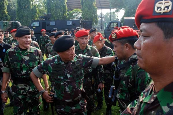 Panglima TNI Serukan Perang terhadap Paham ISIS di Indonesia
