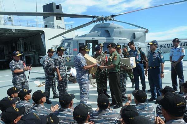 Panglima tni: indonesia belum memerlukan kapal induk