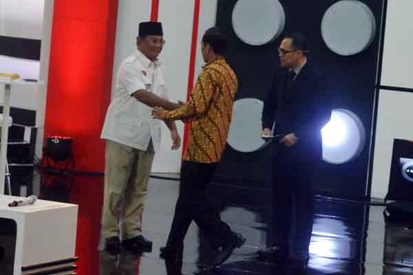 Debat Capres Ketiga Bahas Politik Internasional dan Ketahanan Nasional