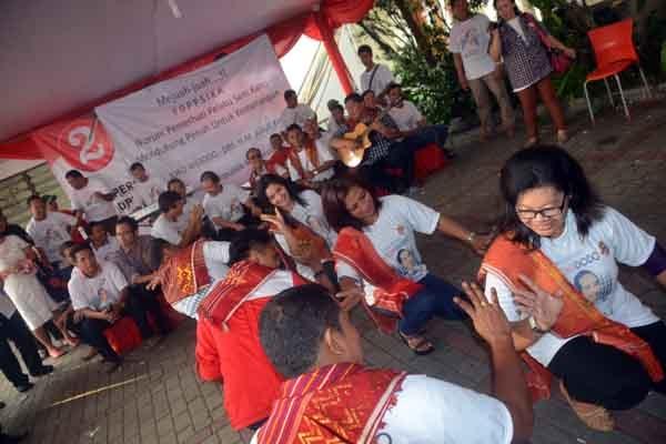 Forum Pemerhati Pelaku Seni Karo Dukung Jokowi-JK