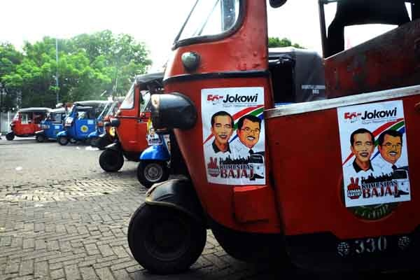 Komunitas Bajaj Jakarta Dukung Jokowi-JK