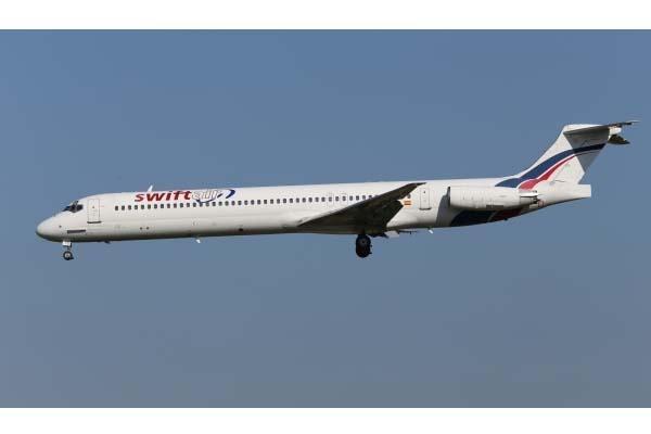 Air algerie md-83 dengan 116 penumpang dan awak yang terbang dari