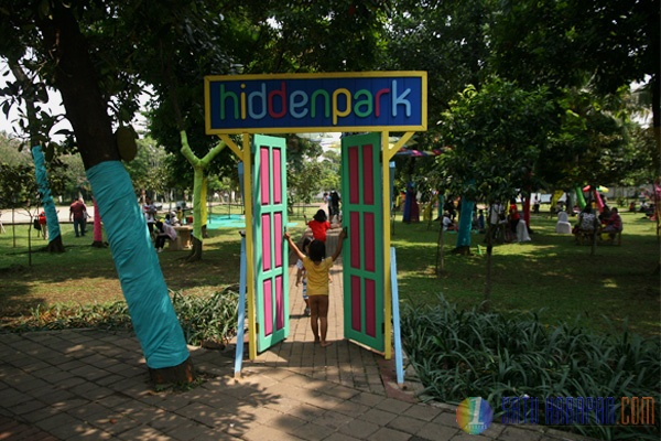 Festival Hidden Park Mengembalikan Kembali Fungsi RTH