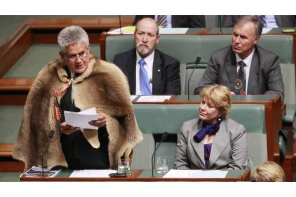 Ken Wyatt, orang Aborigin pertama yang jadi menteri di Australia (Foto: @getty)
