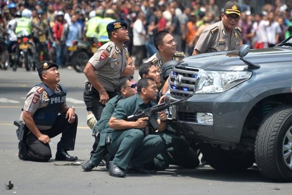 Teroris Gallery: Satu Harapan: Bom Sarinah, Densus 88 Anti Teroris Diturunkan