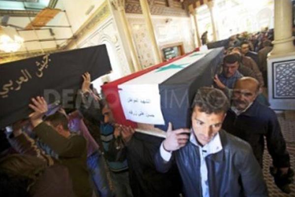 Sudah Dua Tahun Rakyat Syria Berjuang