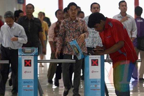 Stasiun Palmerah Minim Aksesibilitas Berkebutuhan Khusus