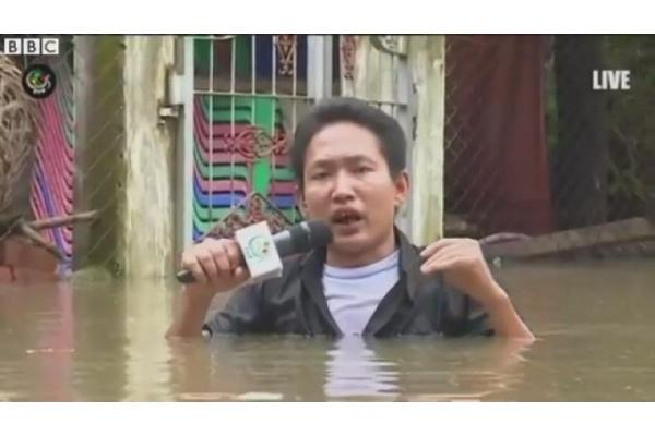 Ditenggelamkan Banjir Myanmar Minta Tolong Pada Dunia