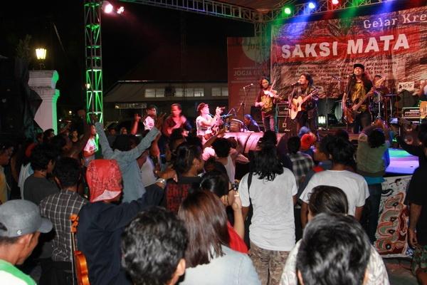 Gelar Kreativitas Girli 2015 di Malioboro Yogyakarta